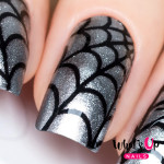 Whats Up Nails Трафарет Паутина