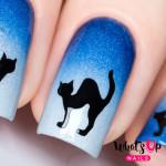 Whats Up Nails Трафарет Испуганная кошка