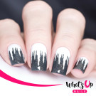 Whats Up Nails Трафарет Сосульки