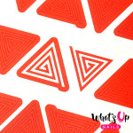 Whats Up Nails Трафарет Треугольная спираль