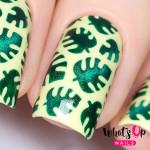 Whats Up Nails Трафарет Тропические листья