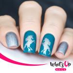 Whats Up Nails Трафарет Единороги