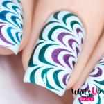 Whats Up Nails Трафарет Водные узоры