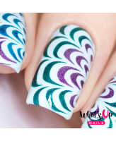 Whats Up Nails Трафарет Водные узоры